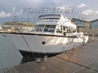 Patagonia Latitude 44 Classic Trawler Yacht For Sale, 13 66m