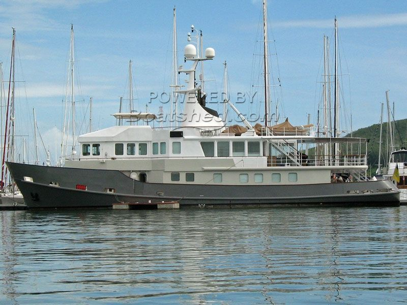 Expedition Yacht Converted Baltic Tug For Sale, 33 53m, 1990