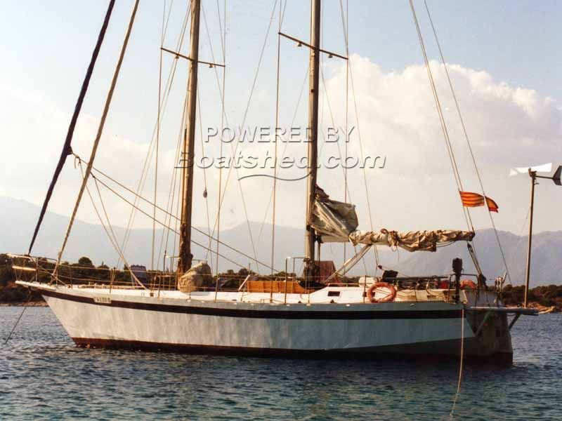 Steel Schooner  Blue Water Cruiser