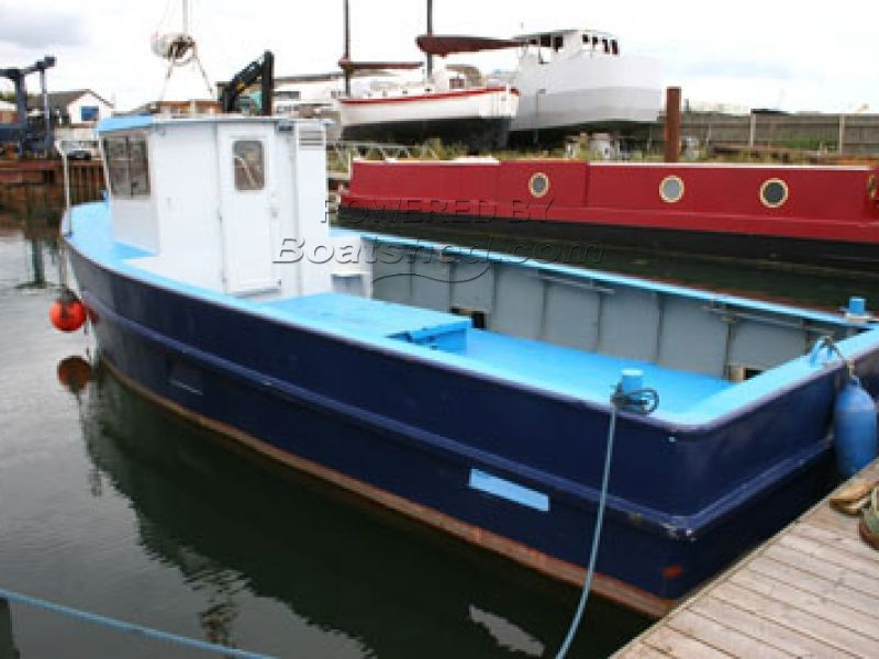 Steel Fishing / Work Boat For Sale, 9 70m, unknown year