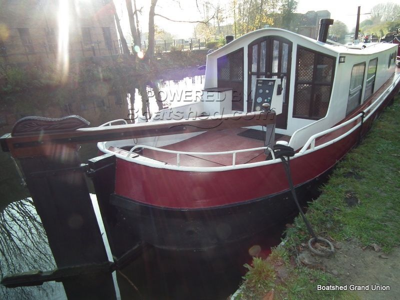 Dutch Barge 40ft 1930's Aak Style