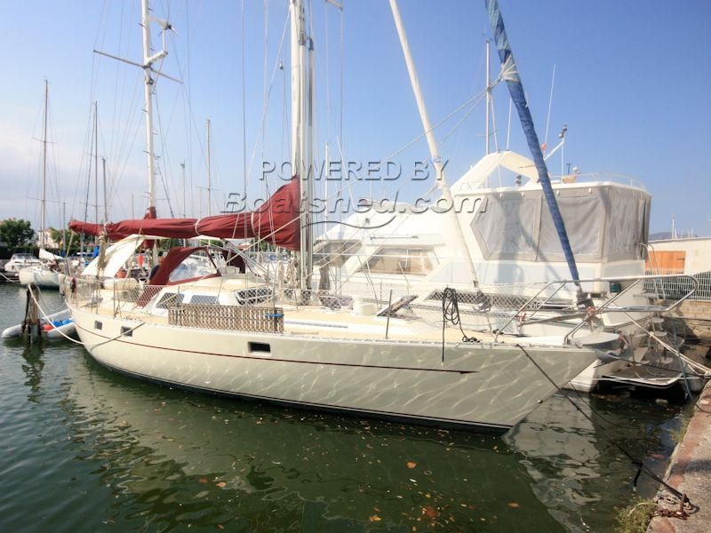 Oyster 435 Cutter Rigged Ketch For Sale, 13 22m, 1983