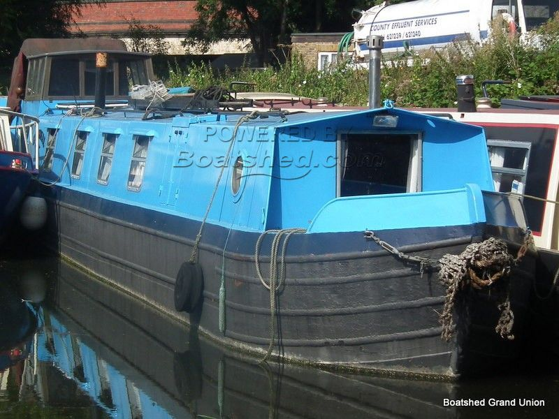 Narrowboat 50ft Cruiser Stern With Wheelhouse
