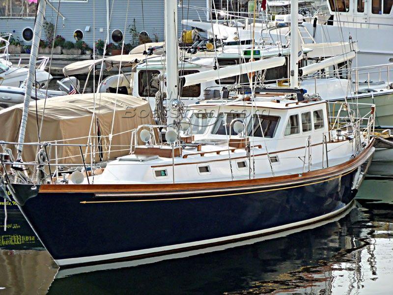 Hank Hinckley Ocean Cruising 42 Pilothouse Ketch