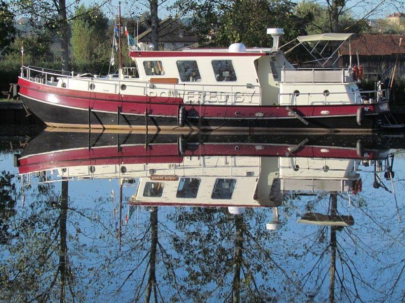 Dutch Steel Cruiser Trawler Motor Yacht