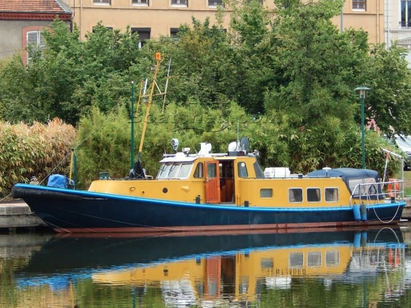 Dutch Steel Converted Workboat Coastal Survey Vessel Exceptional Condition
