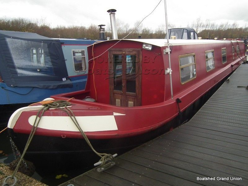 Narrowboat 57ft Cruiser Stern Live-aboard With Mooring