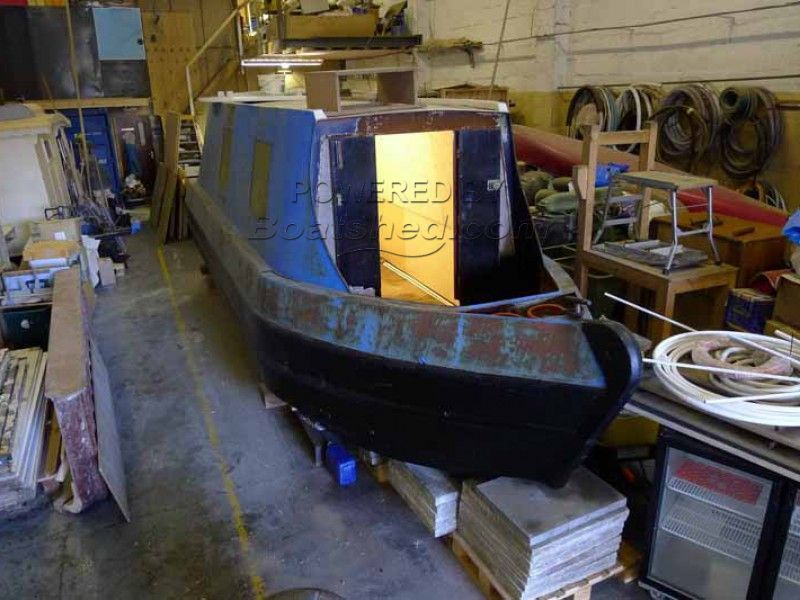 Narrowboat 25ft Project