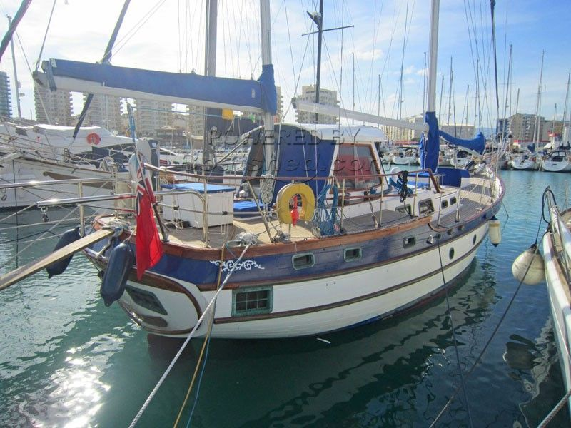 Vagabond 47 Pilot House Ketch For Sale, 14.36m, 1981