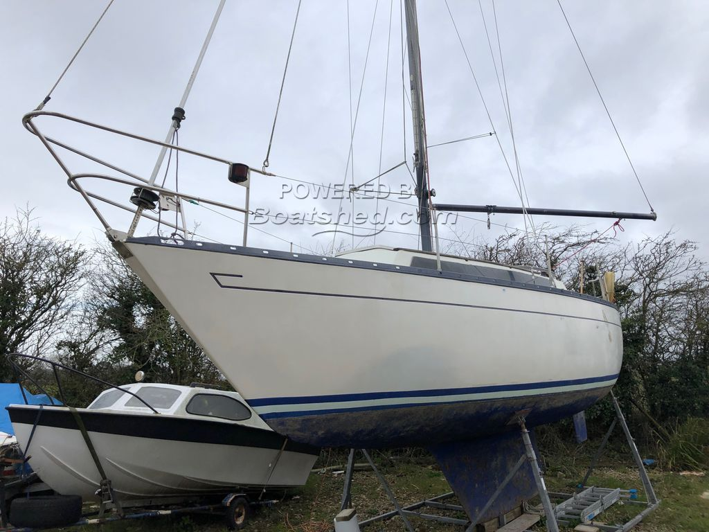 Mirage 28 Fin Keel Mark 2