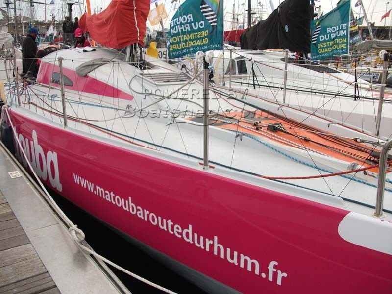 Class 40 OCD  - Completed Route Du Rhum 2014 - Class 40, 5th Place