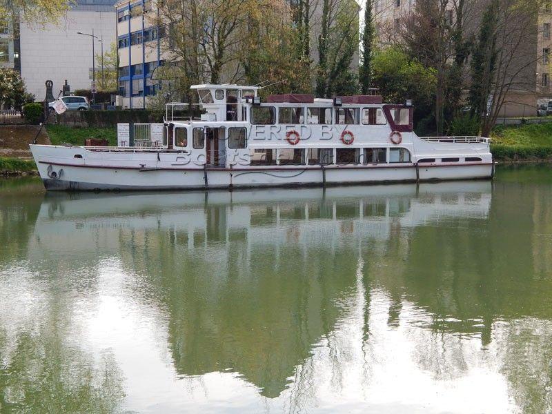 Passenger Vessel River Cruiser Conversion Liveaboard
