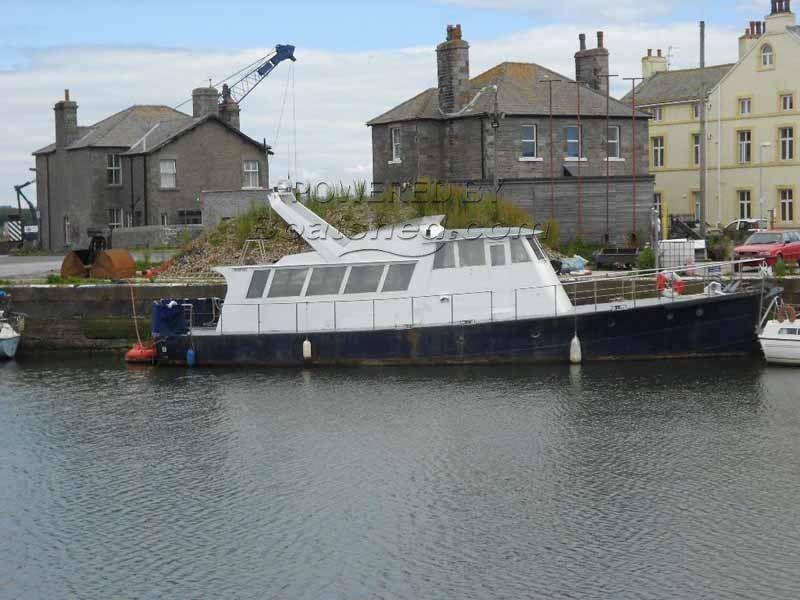Steel 20m Ex Navy Torpedo Boat