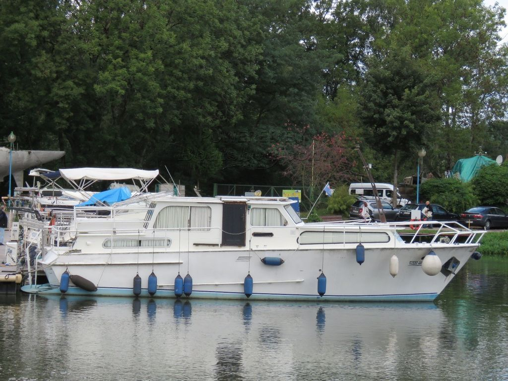 Dutch Steel River Cruiser Live Aboard Dutch River Cruiser: Reduced!