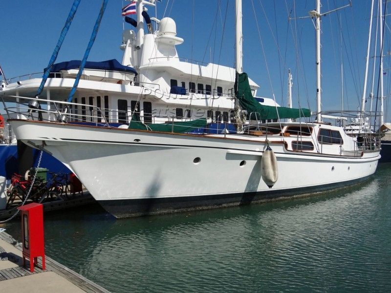Don Brooke 78' Cutter Rigged Ketch For Sale, 23 77m, 1980