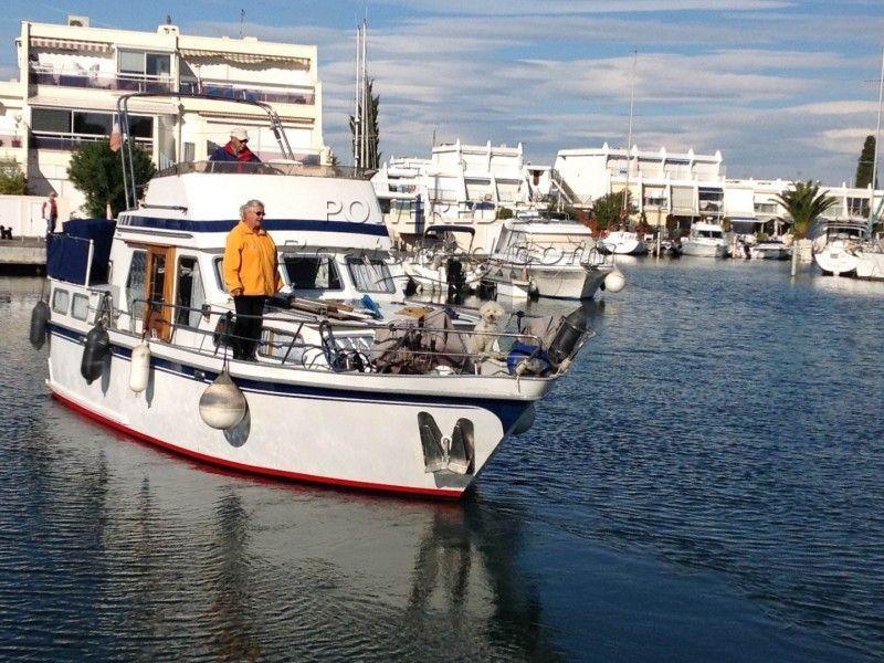 Dutch Steel Cruiser Trawler Style