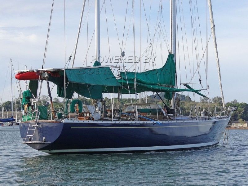 Aluminium Custom 21 M Yacht Ketch Rig