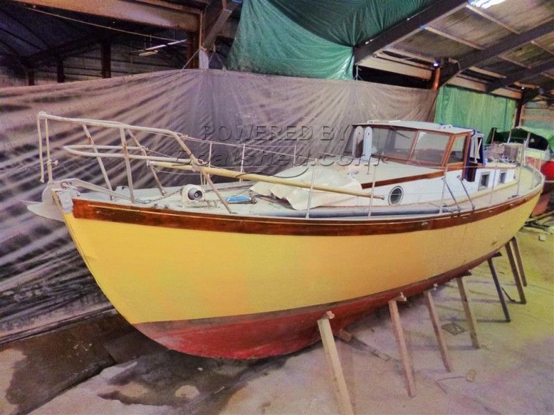 Classic Motor Sailer 37' For Sale, 11 58m, 1936