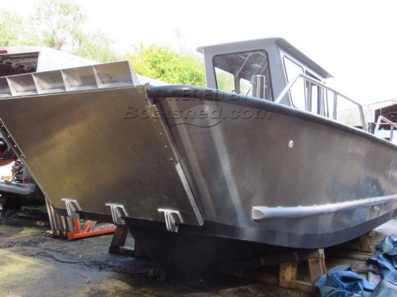 Landing Craft LC-823 Aluminium Workboat