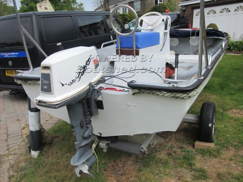 One-Off Dory Style Open Runabout