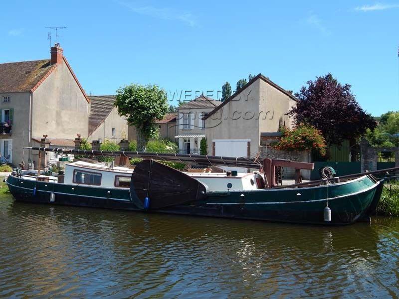 Dutch Barge Tjalk Sailing Tjalk