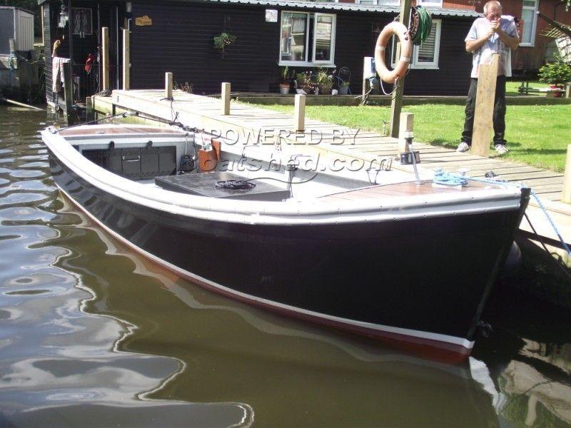 Maritime 21 Open Launch, Work/fishing Boat