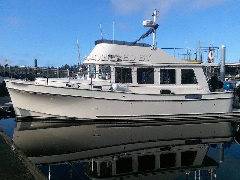Camano 41 Performance Trawler Flybridge