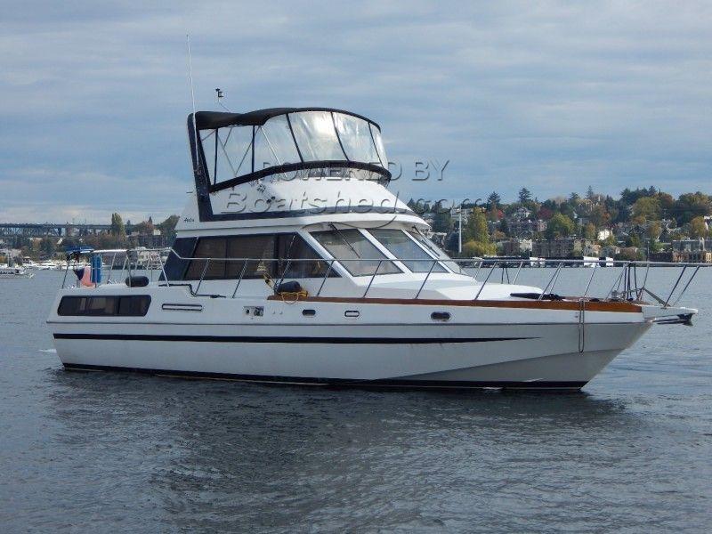 HI-Star 42 Aft Cabin Trawler Aft Cabin