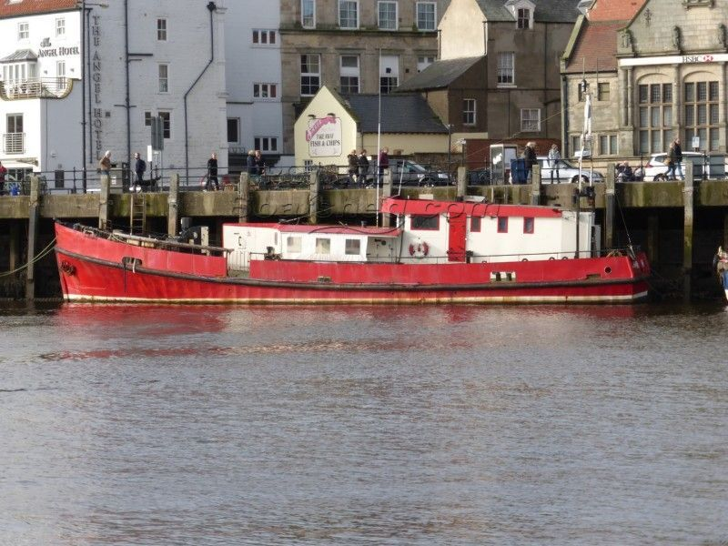 Fleet Tender Aberdovey Sea Fishing Boat