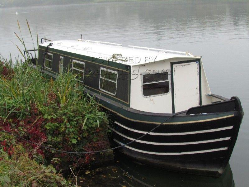 Narrowboat 40ft Trad Stern