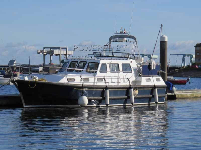 Steel Motor Boat 38 Nelson Style