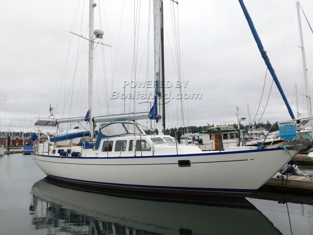 Spencer 53 Pilothouse Ketch Motor Sailer For Sale, 53'0