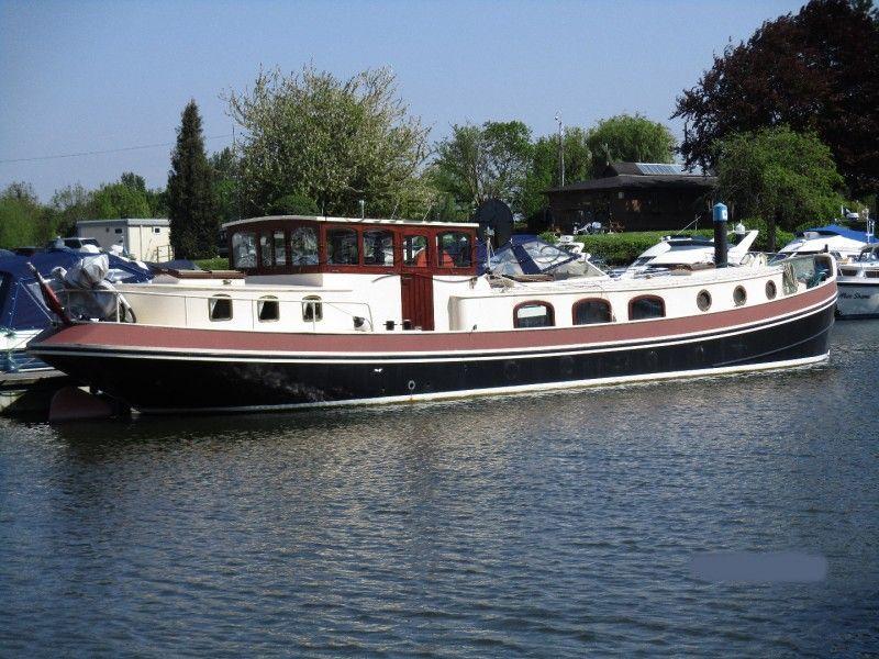 Dutch Barge 17m Luxemotor