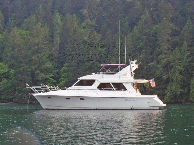 Symbol Yachts 55 Pilothouse Motoryacht Three Stateroom Layout