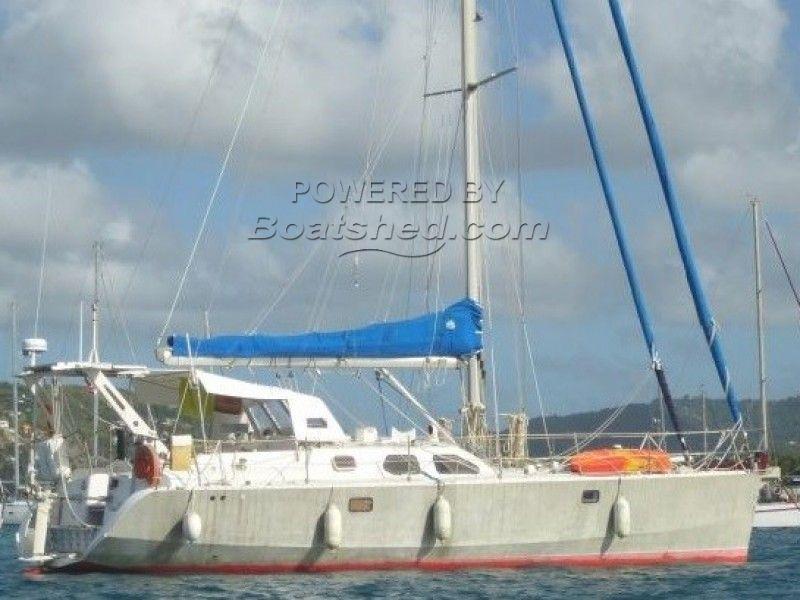 Aluminium Blue Water Cruiser Cotre Atlantis 430
