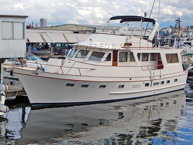 DeFever 60 Flush Deck Trawler Built By Angel Marine, Taiwan