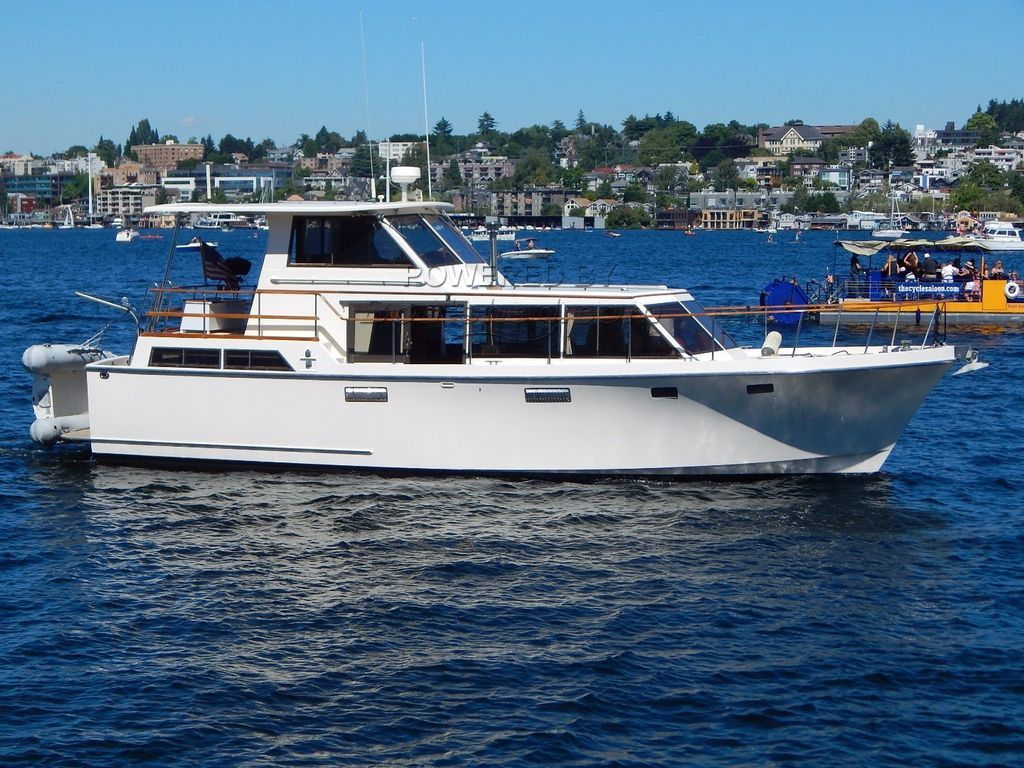 Roughwater 42 Pilothouse Live Aboard -- Cruising Trawler