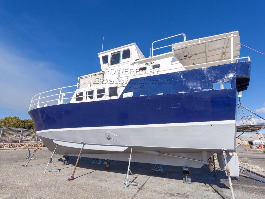 Custom Open Motorboat