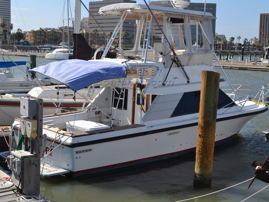 Phoenix 29 Sport Fish Convertible Flybridge