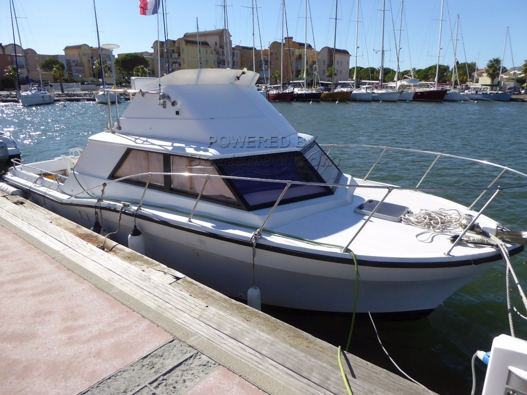 Bertram 30 Concorde Flybridge Sports Express Cruiser/fisher