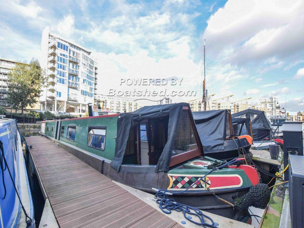Narrowboat 62ft With London Mooring