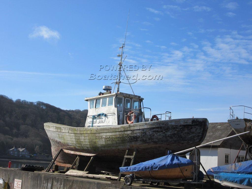 Wooden  Pilot Boat 52' Ex Newport & Dublin