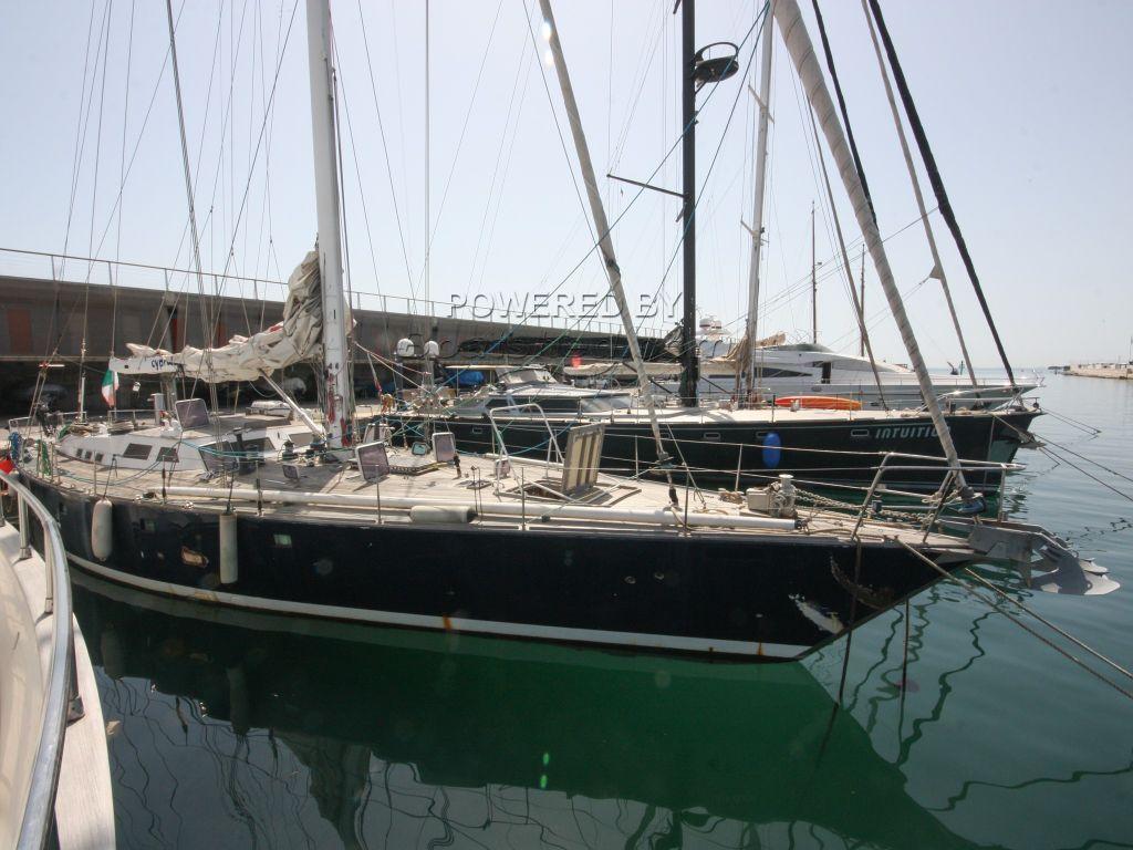 Bordogna Sciomachen 23m Sloop Steel Cutter Rigged Blue Water Cruiser