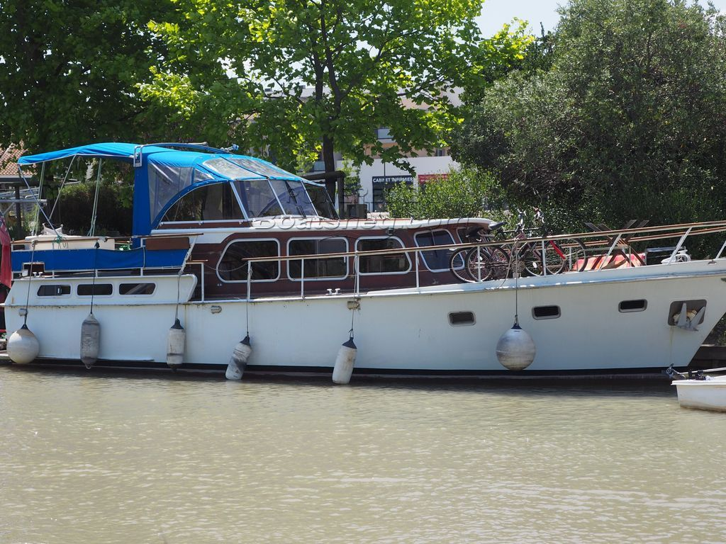 Dutch Steel Motor Cruiser 40 Twin Aft Cabin
