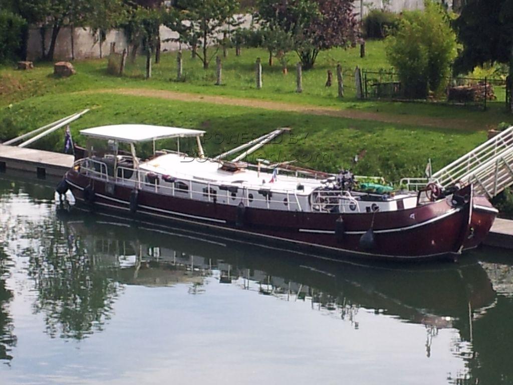 Dutch Barge Tjalk Classic Tiller Steering
