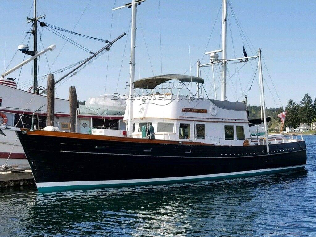 Alden 57 Trawler With Ketch Rig