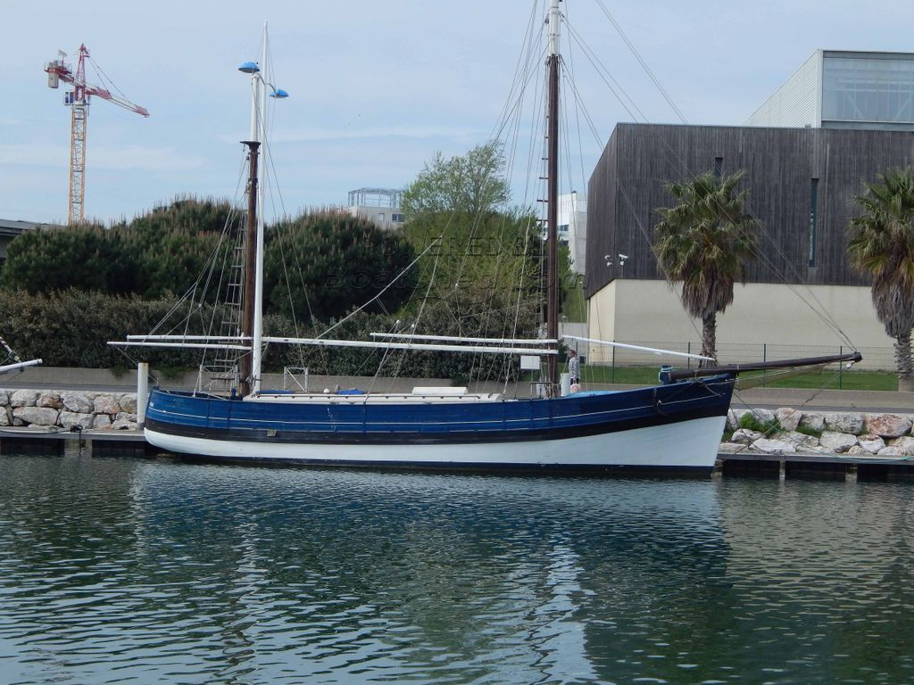 Dundee Wooden Tuna Fishing Boat Fully Renovated In 1994
