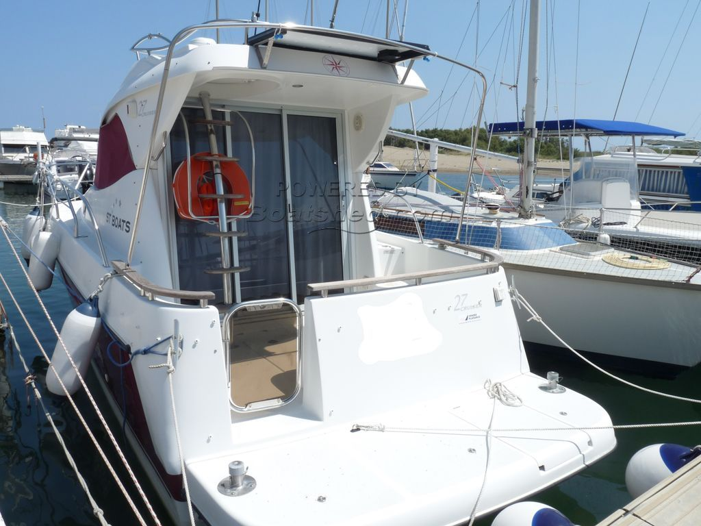 ST BOATS 27 Sports Fisher