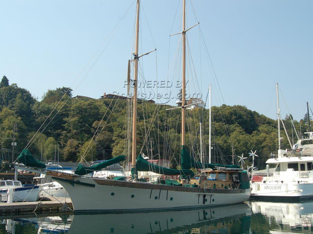 Custom Staysail Schooner