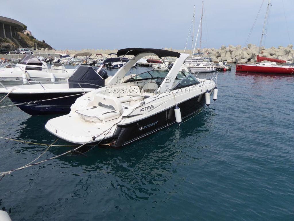 Monterey 264-FSC Sports Express Cruiser
